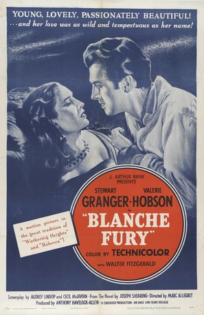 Blanche Fury - Movie Poster (thumbnail)