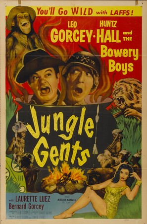 Jungle Gents - Movie Poster (thumbnail)