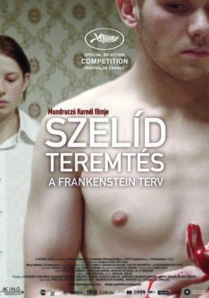 Szelíd teremtés - A Frankenstein-terv - Hungarian Movie Poster (thumbnail)