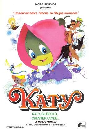 Katy, la oruga - Spanish Movie Poster (thumbnail)