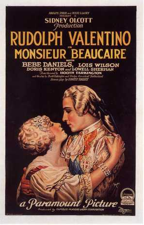 Monsieur Beaucaire - Movie Poster (thumbnail)
