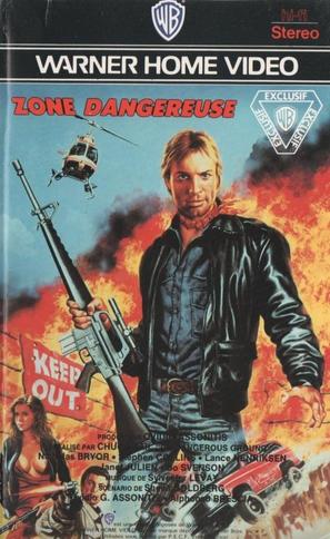 Choke Canyon - French DVD movie cover (thumbnail)