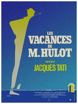 Les vacances de Monsieur Hulot - French Movie Poster (thumbnail)
