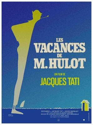 Les vacances de Monsieur Hulot - French Movie Poster (thumbnail)