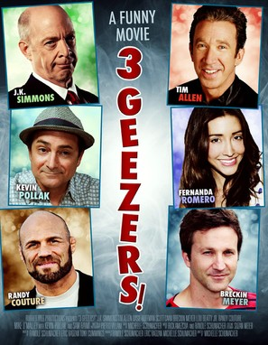 3 Geezers! - Movie Poster (thumbnail)