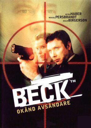 """Beck"" Okänd avsändare - Swedish poster (thumbnail)"