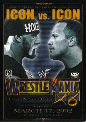 WrestleMania X-8 - DVD movie cover (thumbnail)