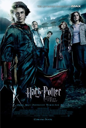 Harry Potter and the Goblet of Fire - Movie Poster (thumbnail)