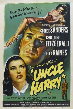 The Strange Affair of Uncle Harry - Movie Poster (thumbnail)