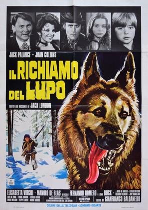Il richiamo del lupo - Italian Movie Poster (thumbnail)