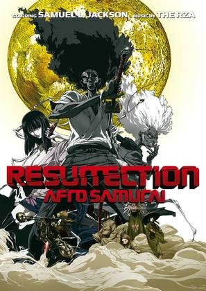 Afro Samurai: Resurrection - DVD cover (thumbnail)