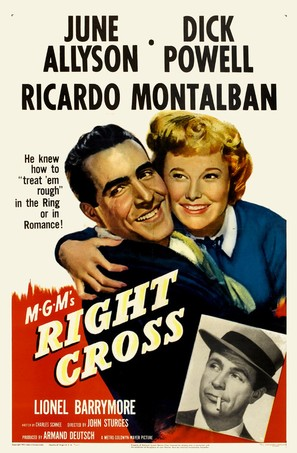 Right Cross - Movie Poster (thumbnail)