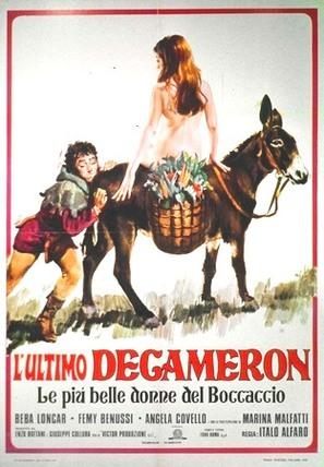 Decameron n° 3 - Le più belle donne del Boccaccio - Italian Movie Poster (thumbnail)
