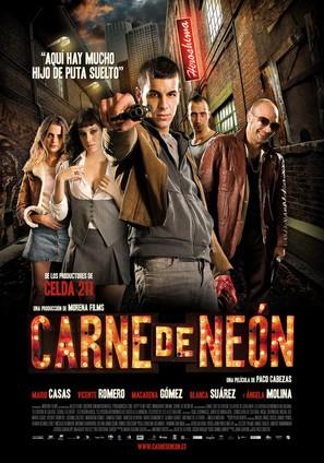 Carne de neón - Spanish Movie Poster (thumbnail)