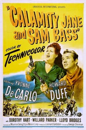 Calamity Jane and Sam Bass - Movie Poster (thumbnail)