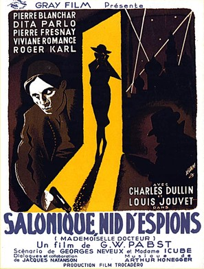Mademoiselle Docteur - French Movie Poster (thumbnail)