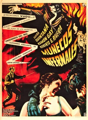 Muñecos infernales - Mexican Movie Poster (thumbnail)