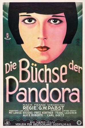Die Büchse der Pandora - German Re-release movie poster (thumbnail)