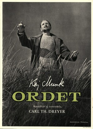 Ordet - Danish Movie Poster (thumbnail)