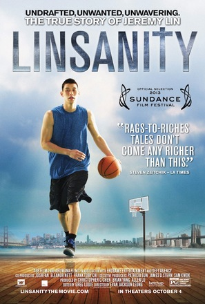 Linsanity - Movie Poster (thumbnail)