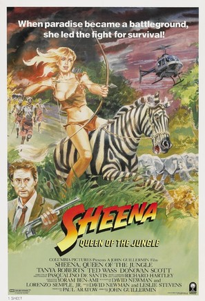 Sheena - Movie Poster (thumbnail)