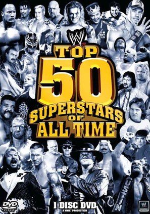 WWE: Top 50 Superstars of All Time - DVD movie cover (thumbnail)