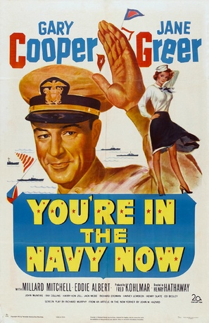 You're in the Navy Now - Movie Poster (thumbnail)