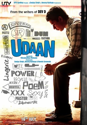 Udaan - Indian Movie Poster (thumbnail)