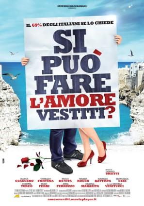 Si puo fare l'amore vestiti? - Italian Movie Poster (thumbnail)