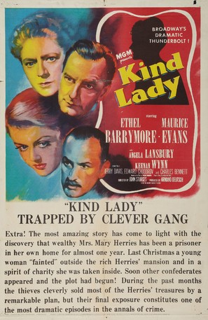 Kind Lady - Movie Poster (thumbnail)