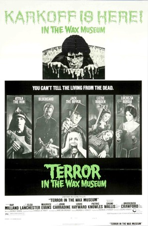Terror in the Wax Museum - Movie Poster (thumbnail)