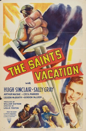 The Saint's Vacation - Movie Poster (thumbnail)