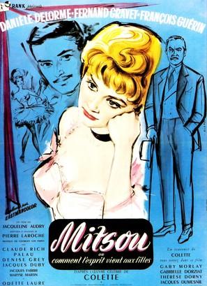 Mitsou ou Comment l'esprit vient aux filles... - French Movie Poster (thumbnail)