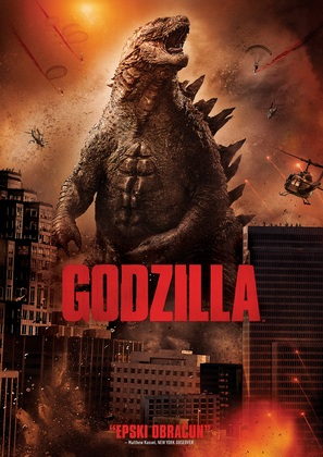 Godzilla - Croatian DVD movie cover (thumbnail)