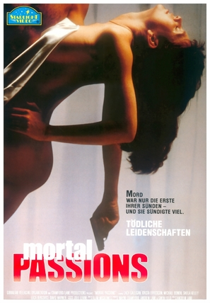 Mortal Passions - German Movie Poster (thumbnail)