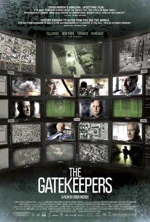 The Gatekeepers - Movie Poster (thumbnail)