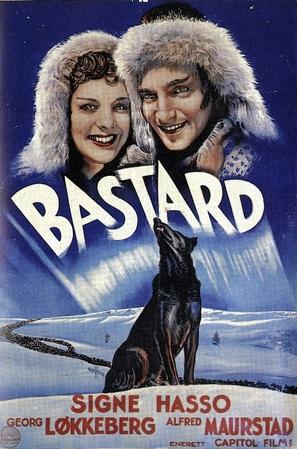 Bastard - Norwegian Movie Poster (thumbnail)