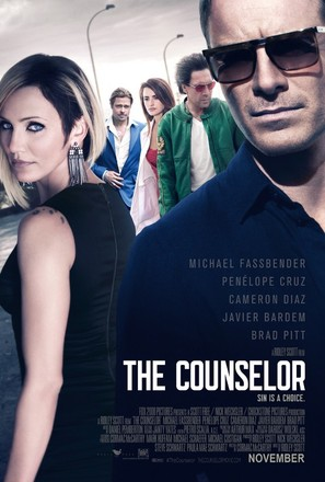 The Counselor - British Movie Poster (thumbnail)
