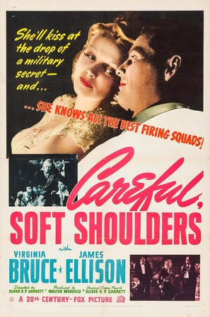 Careful, Soft Shoulders - Movie Poster (thumbnail)