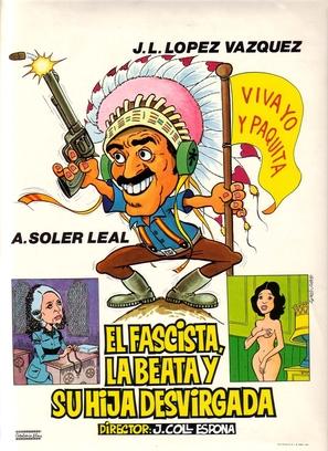 Fascista, la beata y su hija desvirgada, El