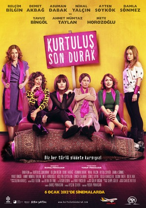 Kurtulus Son Durak - Turkish Movie Poster (thumbnail)