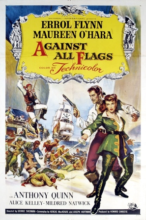 Against All Flags - Movie Poster (thumbnail)