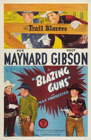 Blazing Guns - Movie Poster (thumbnail)