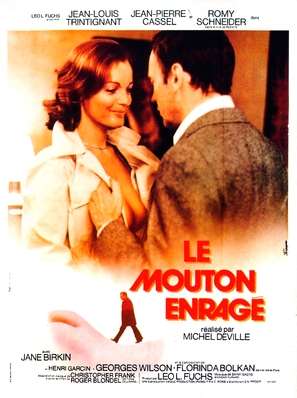 Le mouton enragé - French Movie Poster (thumbnail)