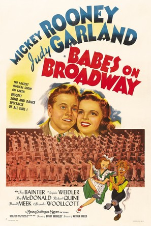 Babes on Broadway - Movie Poster (thumbnail)