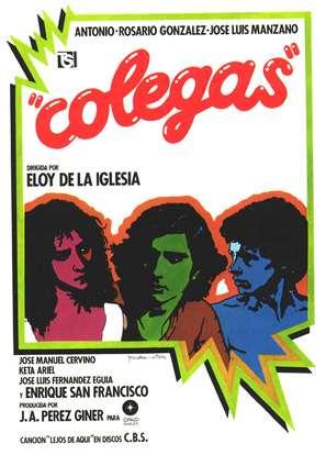 Colegas - Spanish Movie Poster (thumbnail)