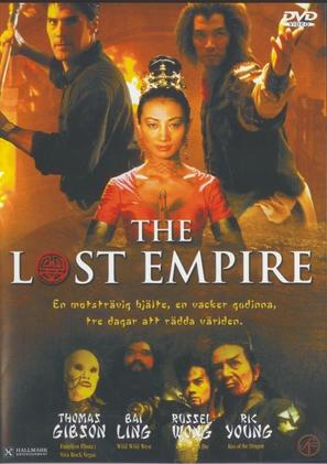 The Lost Empire - Swedish DVD cover (thumbnail)