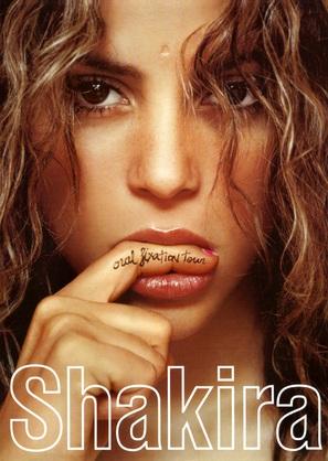 Shakira Oral Fixation Tour 2007 - DVD cover (thumbnail)