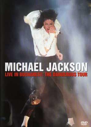 Michael Jackson Live in Bucharest: The Dangerous Tour - Movie Cover (thumbnail)