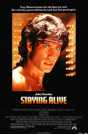 Staying Alive - Movie Poster (thumbnail)